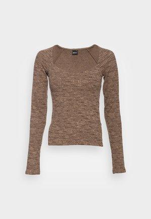 SANNE  - Majica z dolgimi rokavi - brown