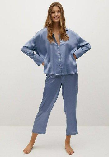 SATINI - Pyjama top - blå