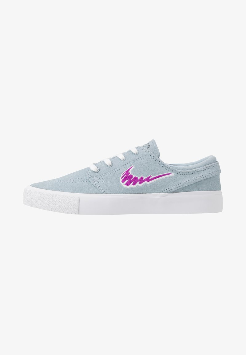 Nike SB - ZOOM JANOSKI - Sneakers laag - light armory blue/vivid purple/white /light brown