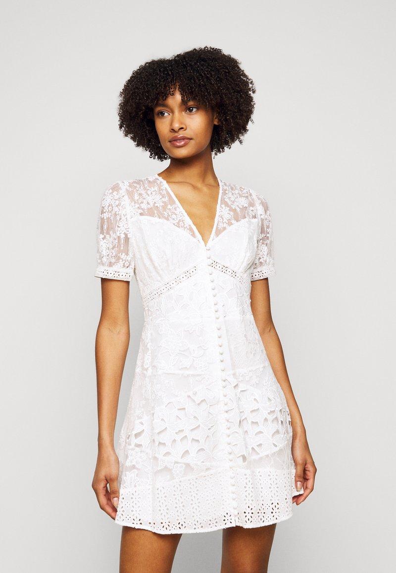 The Kooples - DRESS - Cocktail dress / Party dress - ecru