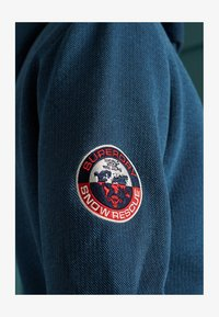 Superdry - Zip-up hoodie - box navy birdseye - 3