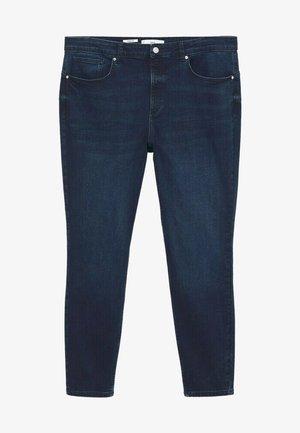 PUSHUP - Jeans Skinny Fit - intensives dunkelblau
