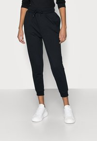 Even&Odd Petite - 2 PACK - Pantalon de survêtement - black/blue - 2