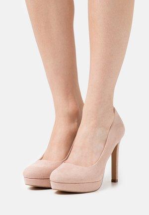 High heels - beige