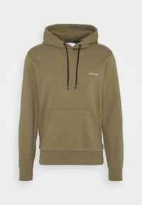 Calvin Klein - SMALL CHEST LOGO  - Sweat à capuche - green - 0