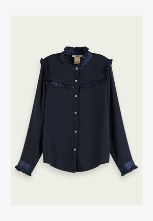 Button-down blouse - night