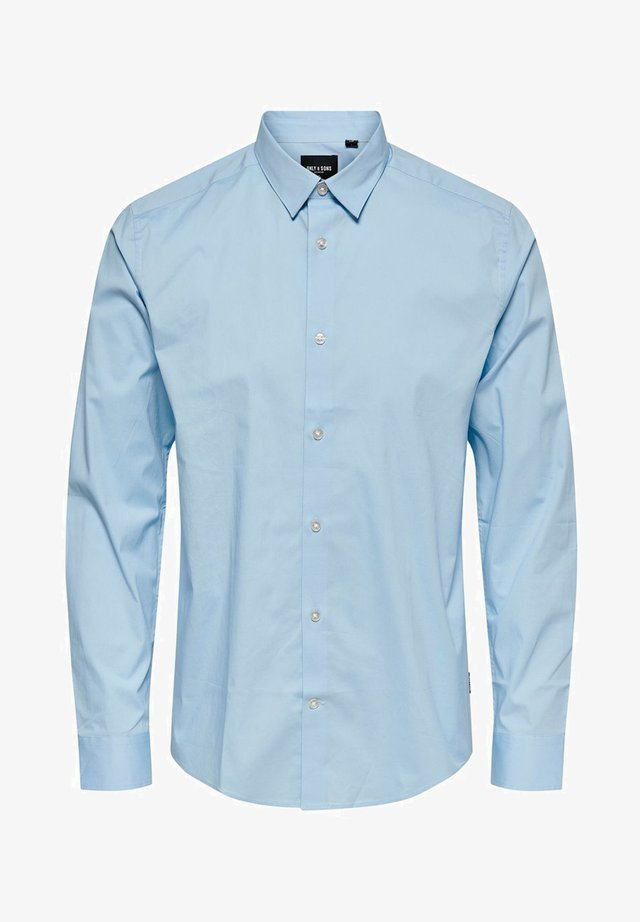Koszula biznesowa - cashmere blue