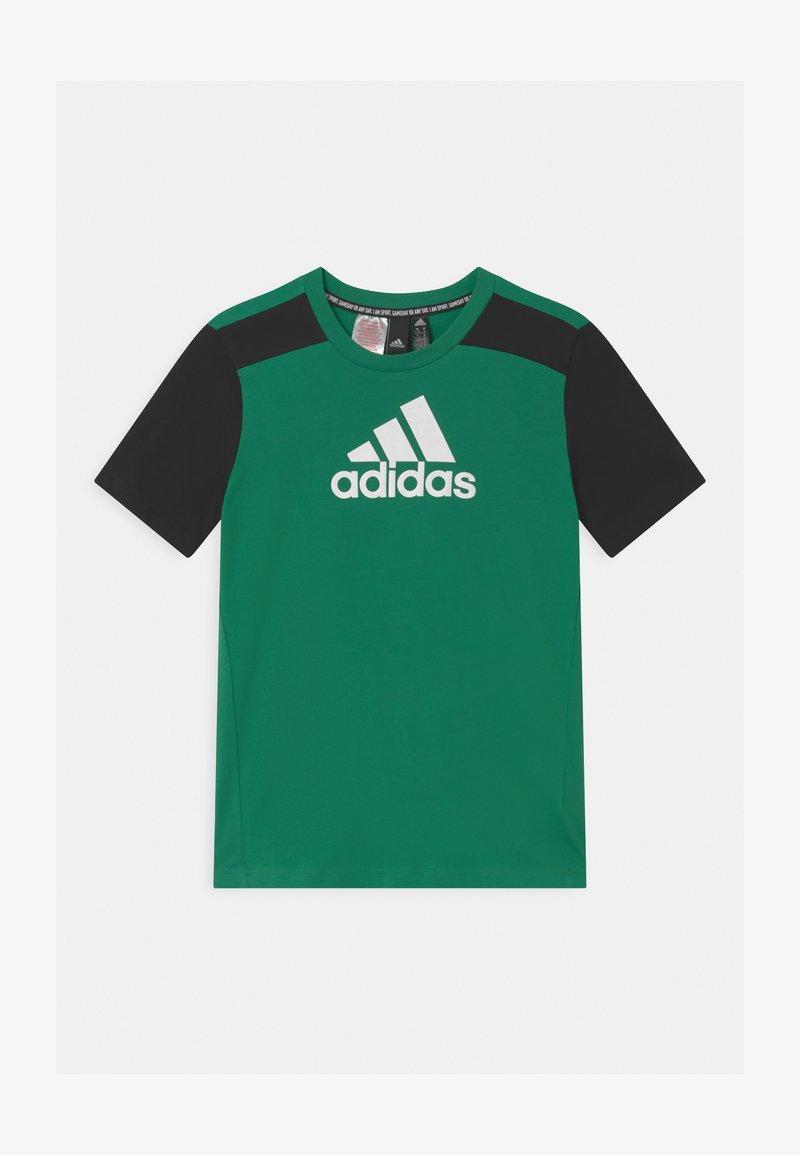 adidas Performance - UNISEX - Triko spotiskem - core green/black/white