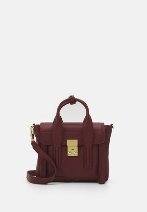 PASHLI MINI SATCHEL - Handbag - pomegranate