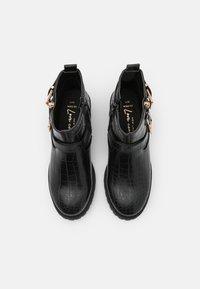 New Look Wide Fit - WIDE FIT CARLEY - Kovbojské/motorkářské boty - black - 5