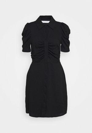 VENICE DRESS - Shirt dress - black