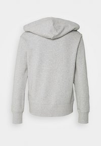 Calvin Klein Underwear - ICONIC LOUNGE FULL ZIP HOODIE - Pyjamashirt - grey heather - 1