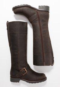 Clarks - ORINOCO JAZZ - Botas - dark brown - 3