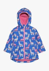 Hatley - KIDS ADORABLE ALPACAS - Waterproof jacket - blue - 0