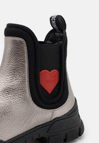 Love Moschino - TREKK - Classic ankle boots - steel - 6