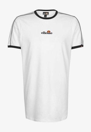 T SHIRT RIESCO - T-shirt imprimé - white