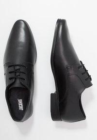 Jacamo - FORMAL DERBY - Business sko - black - 1