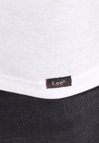 Lee - 2 PACK - T-shirt basic - white - 5
