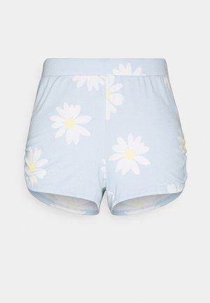 PRINTED COZY SHORT - Pyžamový spodní díl - blue