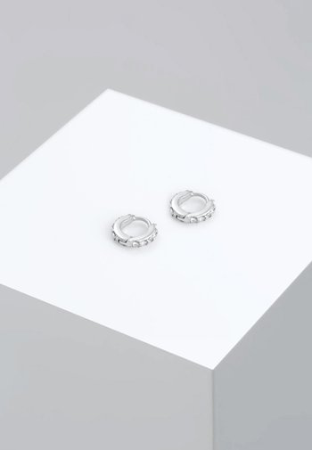 GLASS CRYSTAL - Earrings - silber