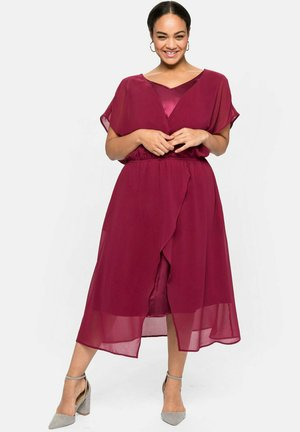 Cocktail dress / Party dress - himbeere