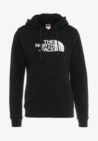 The North Face - WOMENS DREW PEAK HOODIE - Hoodie - black/white - 6