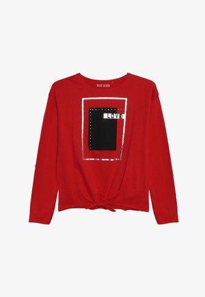 RUNDHALS - Long sleeved top - rot