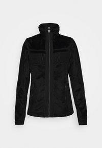 ENGIS - Fleece jacket - black