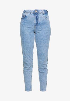 MOM ELASTIC WAIST - Relaxed fit jeans - light blue denim