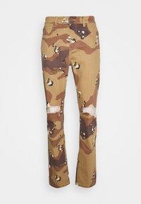 PANT - Straight leg jeans - sand