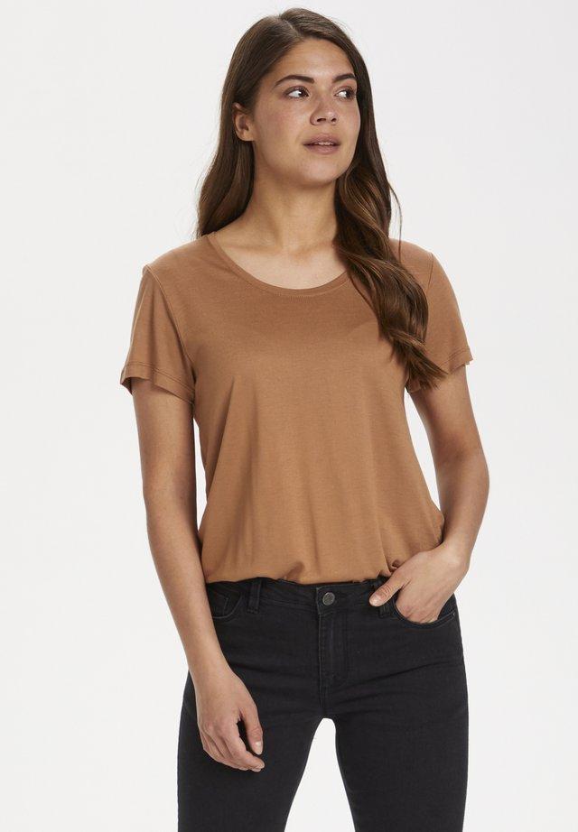 ANNA - Basic T-shirt - thrush