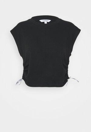 LOGO TIES - Maglia del pigiama - black