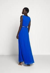 Lauren Ralph Lauren - GRACEFUL LONG GOWN - Vestido de fiesta - portuguese blue - 2