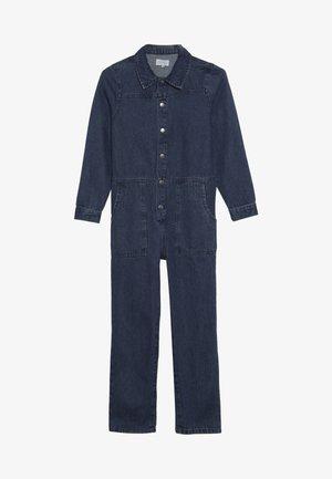 KONFIE WORKER - Jumpsuit - medium blue denim