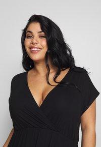 Zign Curvy - Maxi dress - black - 3