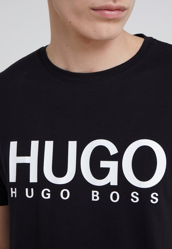 HUGO DOLIVE - T-shirt z nadrukiem - black/czarny Odzież Męska ZWNP