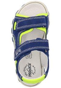 Primigi - Walking sandals - zaffiro/giallo - 3