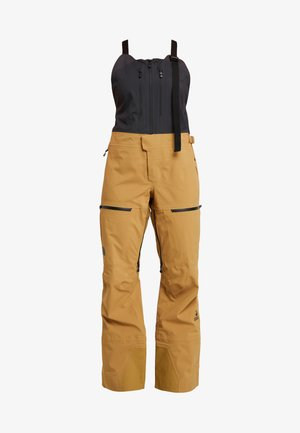 W CEPTOR FutureLight™ BIB - Snow pants - british khaki/ weather black