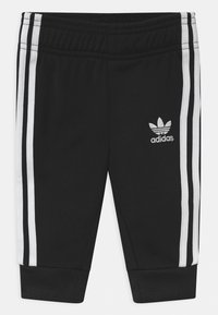adidas Originals - SLICE TREFOIL CREW ADICOLOR ORIGINALS PULLOVER - Sportovní bunda - black/white - 2