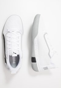 Puma - LEGACY LOW - Basketball shoes - quarry/black - 1