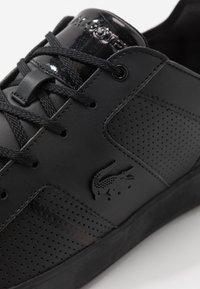 Lacoste - NOVAS - Sneakersy niskie - black - 5