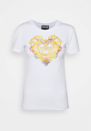 TEE - T-shirt z nadrukiem - optical white
