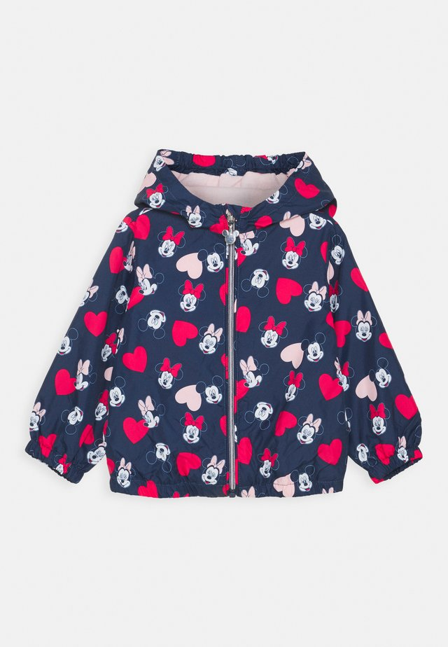 K-WAY MINNIE - Chaqueta de entretiempo - medieval blue