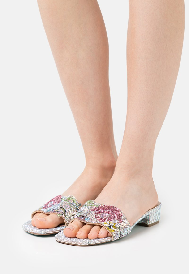 Blue by Betsey Johnson - LINS - Mules - nude
