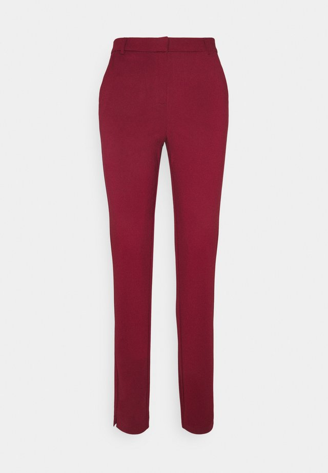 VMLILITH ANKLE PANT - Trousers - cabernet
