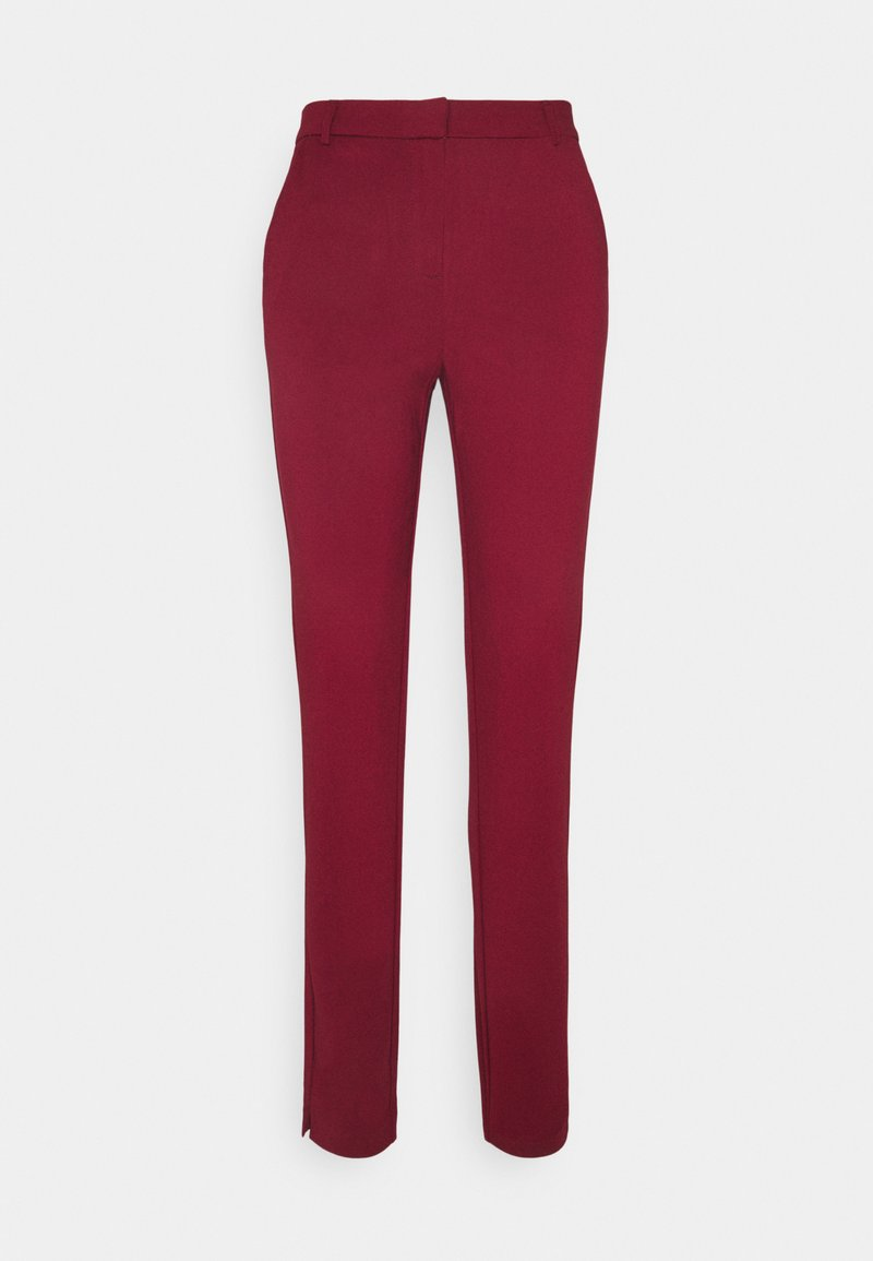 Vero Moda Tall - VMLILITH ANKLE PANT - Trousers - cabernet