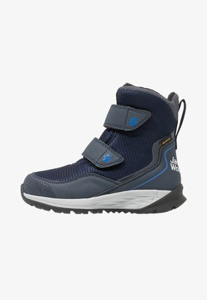 POLAR BEAR TEXAPORE HIGH - Botas para la nieve - dark blue/light grey