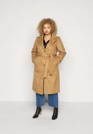 PCSISUN JACKET - Classic coat - toasted coconut