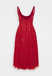 Needle & Thread - SNOWFLAKE PROM EXCLUSIVE - Cocktail dress / Party dress - deep red - 1