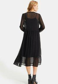 WE Fashion - MET DESSIN - Cocktail dress / Party dress - black - 2